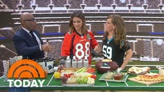How To Throw A Perfect Super Bowl Football-Themed Party | TODAY