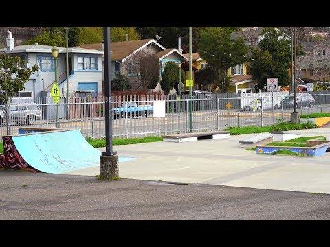 Sketchy Skatepark in South Oakland