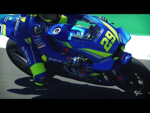 2018 Spanish GP - Suzuki in action