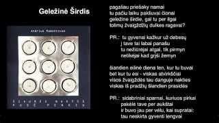 """Video thumbnail of """"Andrius Mamontovas - Geležinė Širdis"""""""