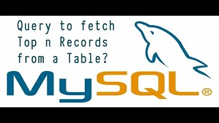 Sql Query - Write a query to fetch top n records? || helpumyway