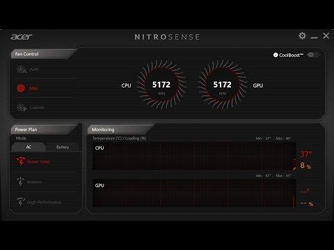 Acer nitro 5 overheating !! — Acer Community