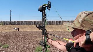SHOOTING THE NEW HOYT REDWRX RX1 WITH EASTON ARROWS