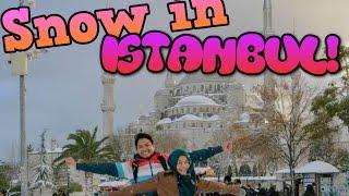 TRAVELOG: Snow in Istanbul   DayanaZahari