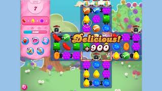 Candy Crush Saga Level 3343 17 moves NO BOOSTERS