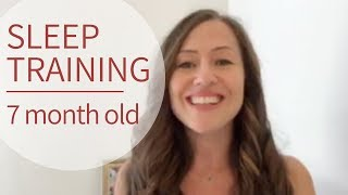 Sleep Training Tips for 7 Month Old Baby