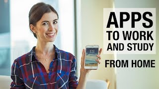 10 APPS TO WORK AND STUDY ONLINE