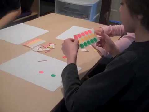 Screenshot of video: Hand extension activities to help develop strength