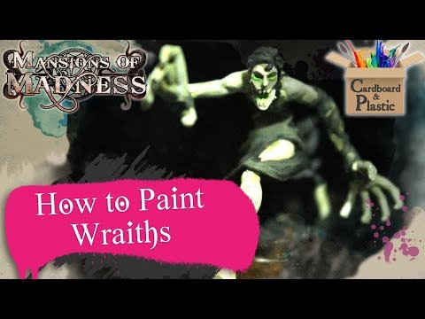 How to Paint Wraiths | Mansions of Madness Ep. 1 | Painting