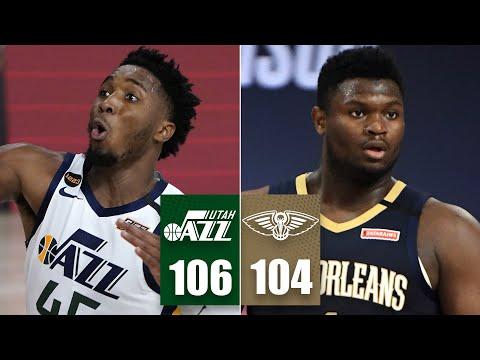 Utah Jazz vs. New Orleans Pelicans | 2019-20 NBA Highlights HD Mp4 3GP Video and MP3
