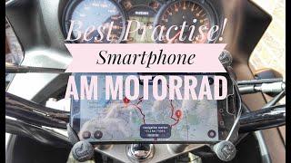 Unglaublich! So geil kann eine Smartphone-Halterung am Motorrad sein ...