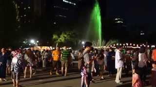 日比谷公園 大盆踊り大会 八木節 2014