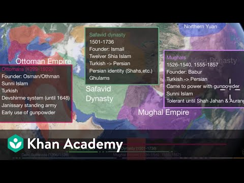 Ottoman, Safavid and Mughal Empires (video)   Khan Academy