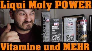 Liqui Moly - Reinigung und Leistung! | Öl Schlamm Spülung | Motor Clean | Motor Protect | Ceratec