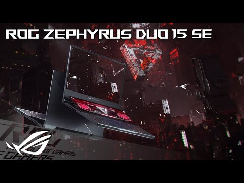 "ASUS ROG Zephyrus Duo 15 SE (15.60"", Full HD, AMD Ryzen 9 5900HX, 32GB, 2000GB)"