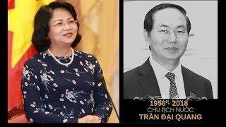 Bà Đ.T. Ngọc Thịnh chính thức giữ chức quyền Chủ tịch thay ông Trần Đại Quang | Kholo.pk