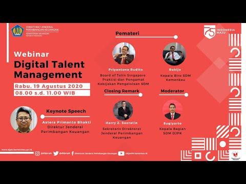 Webinar Digital Talent Management - YouTube