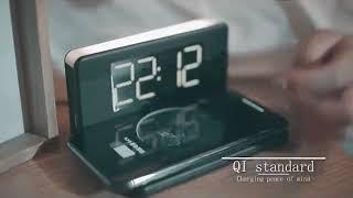 Alarm Clock Wireless Charging Dock