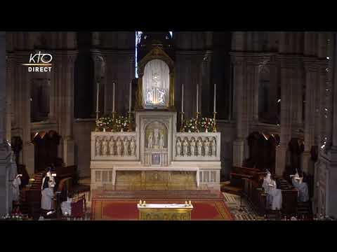 Prière du Milieu du jour du 15 juin 2021 des Bénédictines du Sacré-Coeur de Montmartre