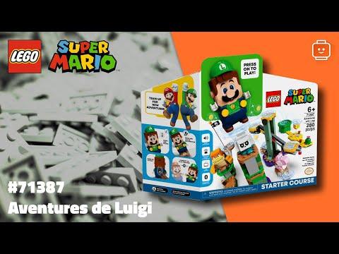 Vidéo LEGO Super Mario 71387 : Pack de Démarrage Les Aventures de Luigi