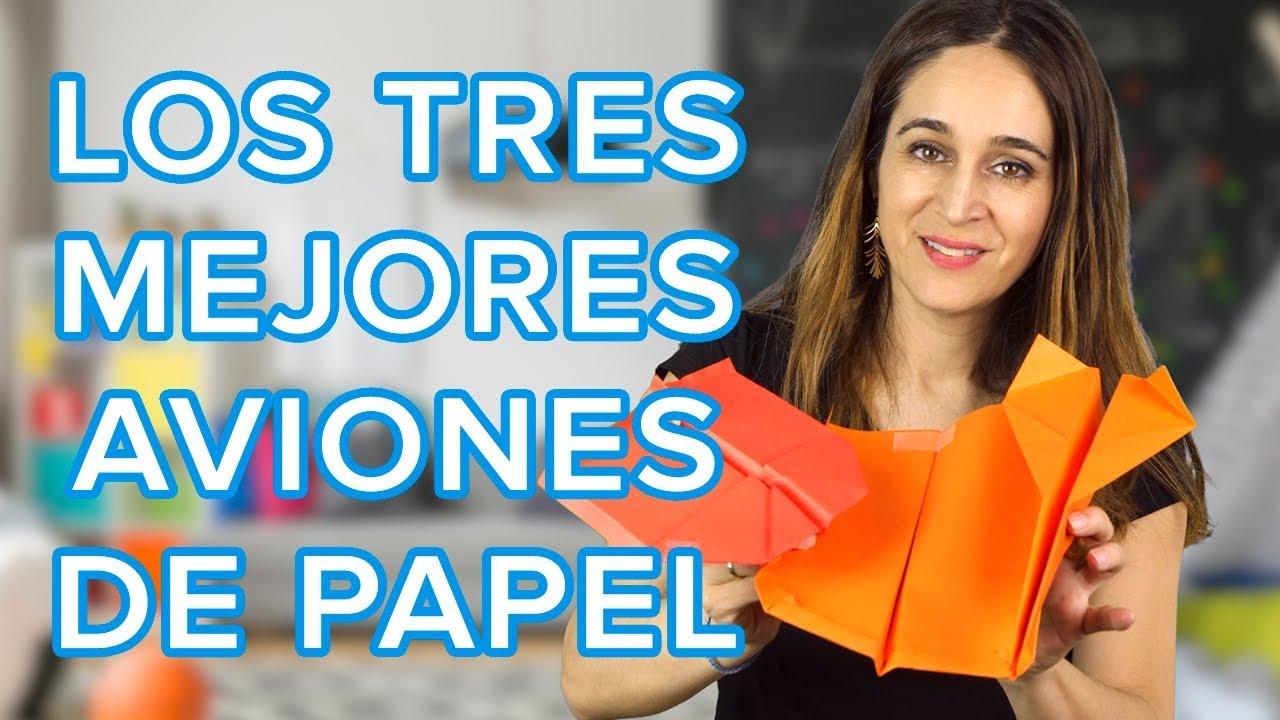 Los 3 aviones de papel más impresionantes | Origami divertido para niños ✈️