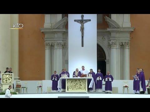 Messe célébrée par le Pape François à Carpi