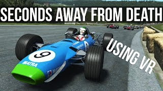 rFactor 2 - What's It Like Driving A 60's F1 Car At Historic Spa? | VR |