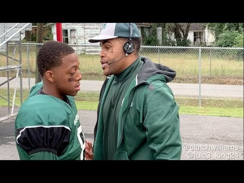 Coach Kevin Gates takes the field by Clutch Williams