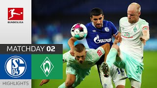 FC Schalke 04 - SV Werder Bremen | 1-3 | Highlights | Matchday 2 – Bundesliga 2020/21