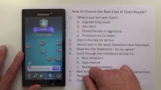 UPDATED - Clash Royale - How to Join a Great Clan in Clash Royale-Step by Step Instructions-Tutorial