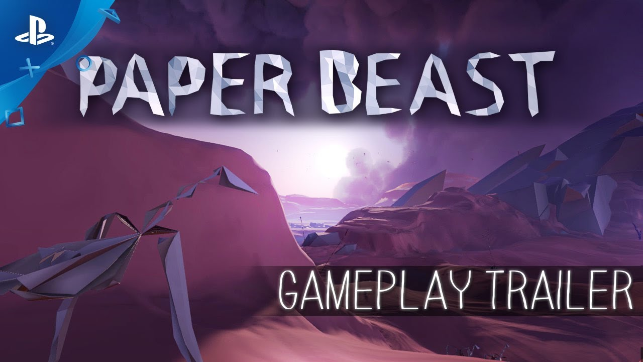 Paper Beast: Exploren un Ecosistema Onírico en PS VR