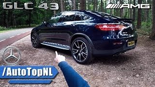 Mercedes GLC 43 AMG Coupe REVIEW POV Test Drive by AutoTopNL