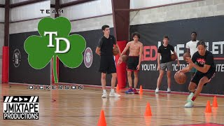 AAU Team with NBA SIZE!!?!!! Team Dickerson Workout w/ Coach Demond