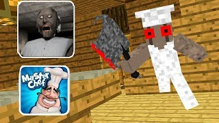 Monster School : Granny Revenge - Slenderina - Master Chef - Minecraft Animation in Minecraft