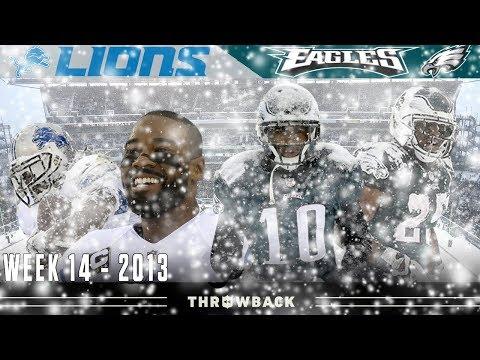 The Blizzard Bowl! (Lions vs. Eagles 2013, Week 14)