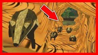СИМУЛЯТОР Маленького БАРСУКА #1 мультик игра про барсука как симулятор дикой мыши от ДЕТСКИЕ ИГРЫ