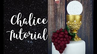 Chalice Tutorial | First Holy Communion Cake Topper