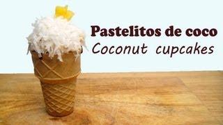 Pastelitos De Coco/Coconut Cupcakes