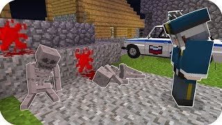 GECE 2:00'DA KORKUNÇ KÖYDE KATİLİ ARADIM - Minecraft