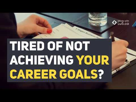 Tired of not achieving your career goals?<br />Tired of not achieving your career goals?