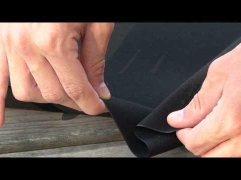 "46/"" Black Marine Grade Sunbrella® Fabric #4608 Shipped from The USA!"