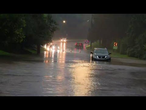 Widespread flooding across Metro Detroit
