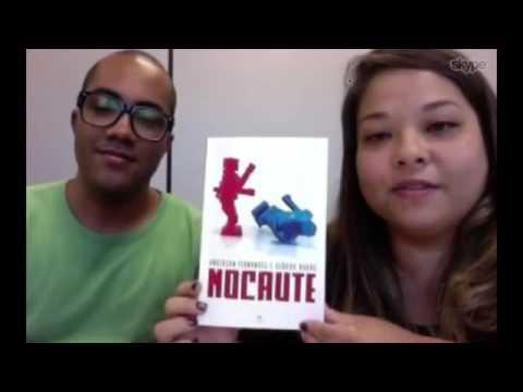 Entrevista de Anderson Fernandes e Débora Kaoru a TV Mar sobre o livro Nocaute