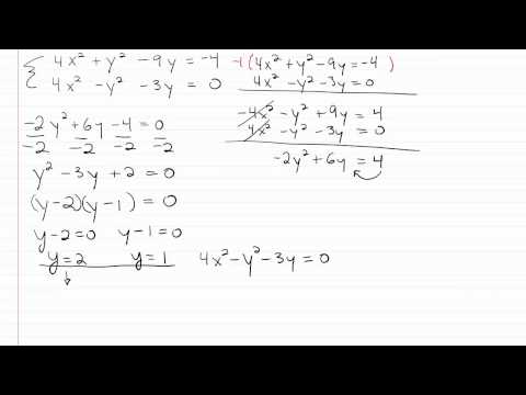 Solving Nonlinear Systems p4