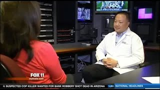 Dr. Gabriel Chiu on FOX 11 News
