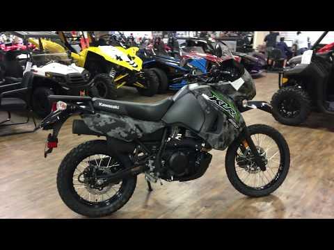 2018 Kawasaki KLR 650 Camo in Murrieta, California