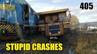 Stupid driving mistakes 405 (October 2019 English subtitles)