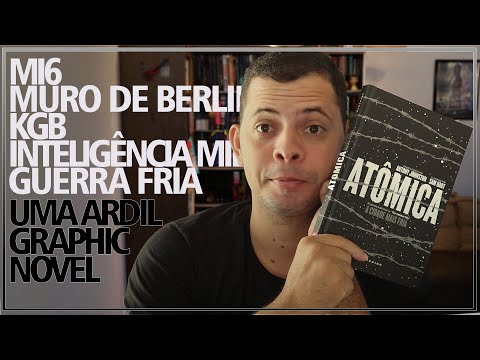 ATÔMICA A CIDADE MAIS FRIA | Alegria Literária