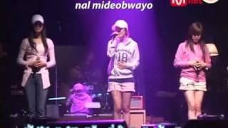 [Thai subs] 110508 - JeTiHyun - Oppa Nappa (Rehearsal)