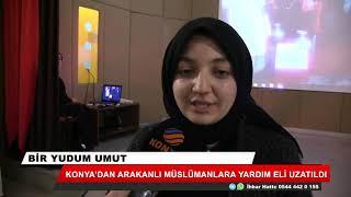 Konya'dan Arakanlı Müslümanlar için 25 su kuyusu